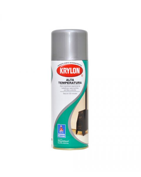 Krylon Spray Alta Temp. Aluminio