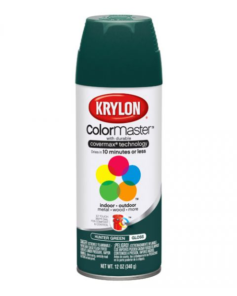Krylon Spray Secado Rapido Verde Ingles
