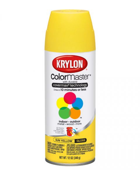 Krylon Spray Secado Rapido Amarillo