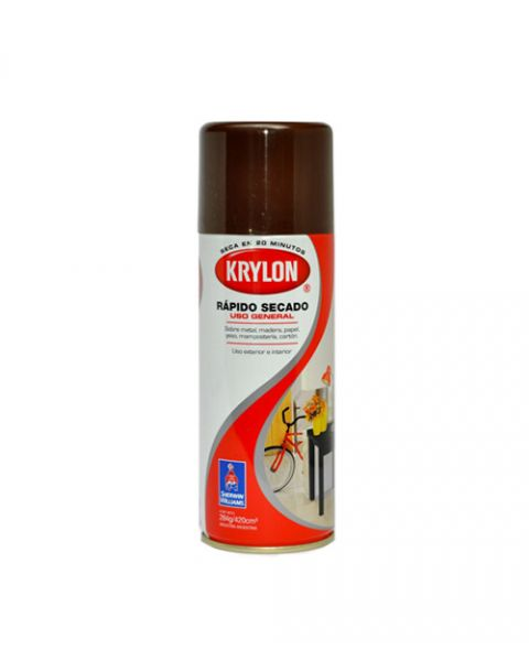 Krylon Spray Secado Rapido Cafe