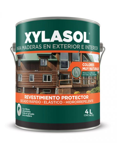 Xylasol Lasur Roble Oscuro X 4Lt