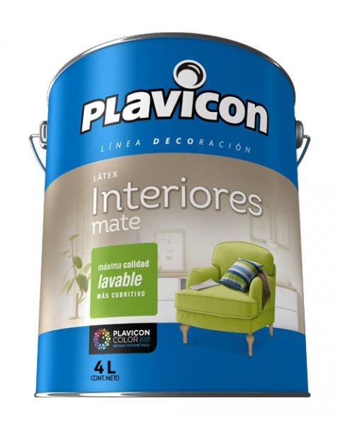 Plavicon Interior Lavable X 4 Lts