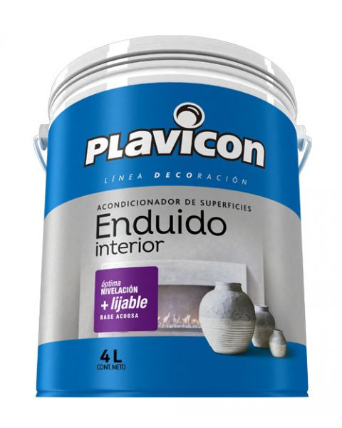 Plavicon Enduido Interior X 4 Lts