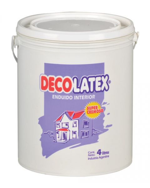 Decolatex Enduido Interior X 4lt-Tersua