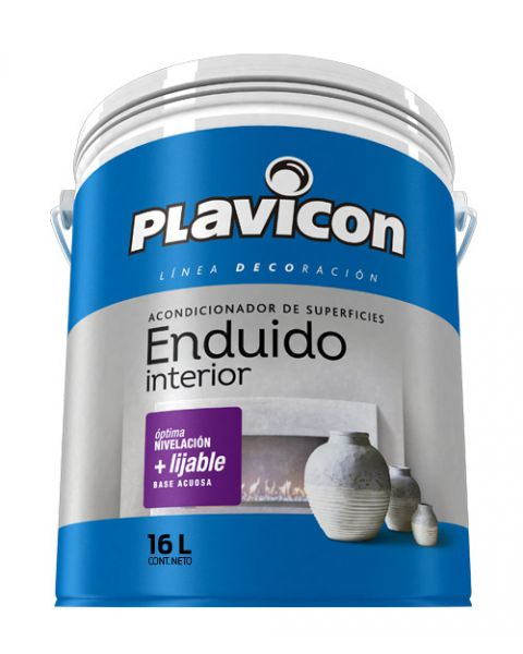 Plavicon Enduido Interior X 16lts