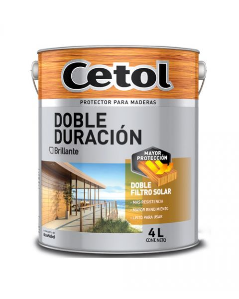 Cetol Larga Dura Brillante Natural X 4lt