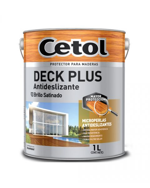Cetol Deck Plus Antideslizan. Nat X 1lts
