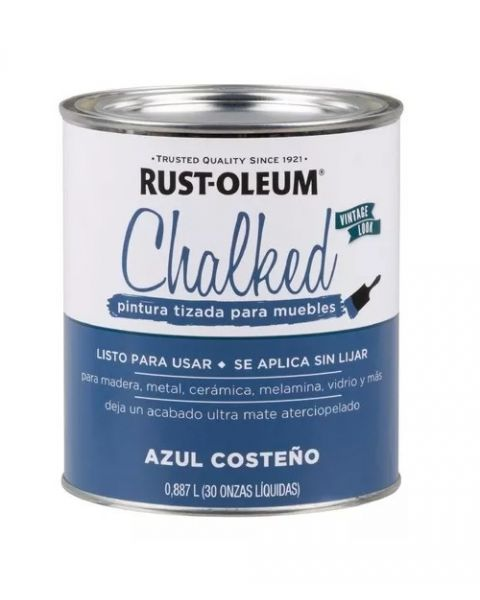 Rust-Oleum Chalked Brochable Azul Costeño 0,887 L